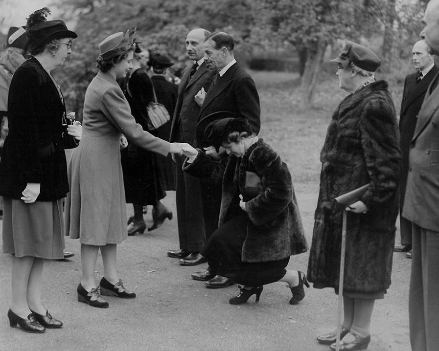 The Queen's visit in 1946