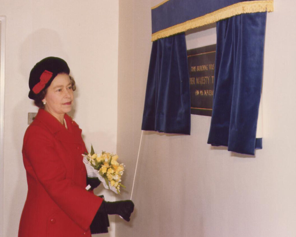The Queen opens Northcott House in 1979