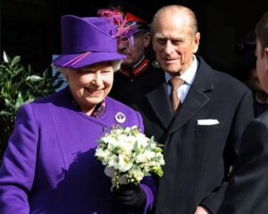The Queen visiting in 2010