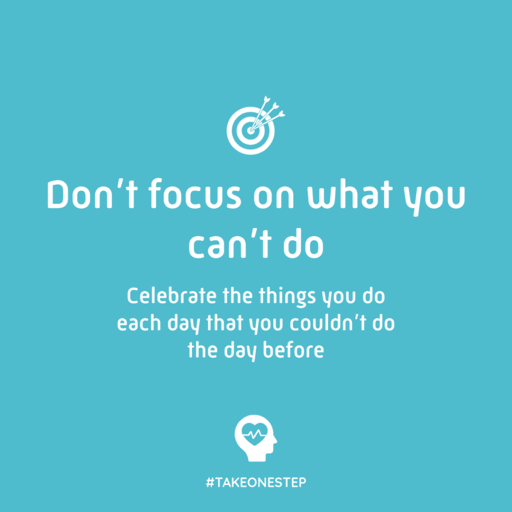 Don't focus on what you can't do